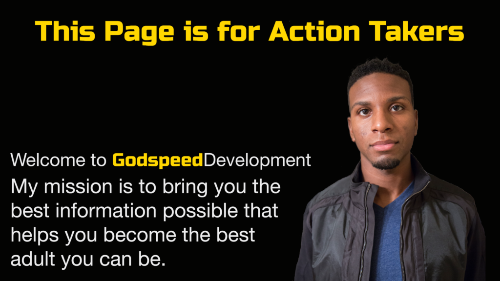 Godspeed Development Start Here Page